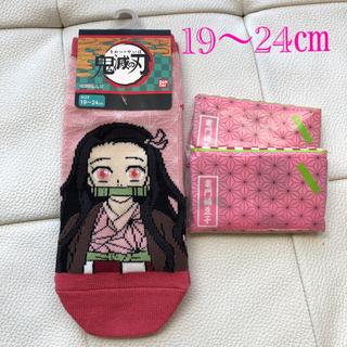 竈門禰豆子 靴下&ティッシュ 2つセット(靴下/タイツ)