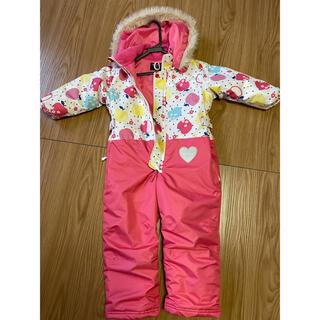 ムージョンジョン(mou jon jon)のジャンプスーツ スキーウェア子供(ウエア)