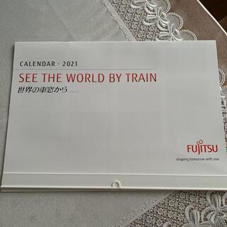 フジツウ(富士通)の世界の車窓から 富士通 カレンダー2021(カレンダー/スケジュール)