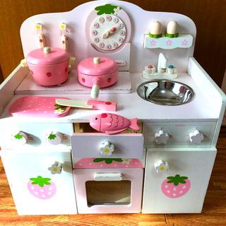 マザーガーデン キッチン ちくたくキッチン(知育玩具)