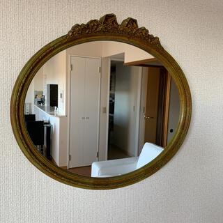お値下げ❗️イタリア製 アンティーク 鏡 ミラー 壁掛けミラー (壁掛けミラー)