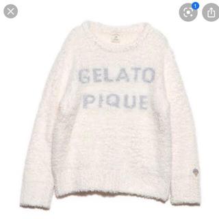 ジェラートピケ(gelato pique)のジェラートピケ ロゴジャガードプルオーバーセット(ルームウェア)