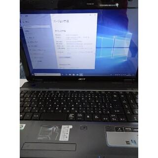 エイサー(Acer)の激安WIN10 エイサー aspire 5740 i5 4GB 500GB(ノートPC)