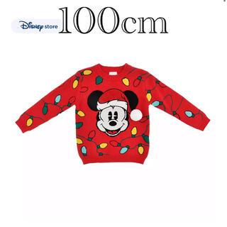 デイジー(Daisy)のディズニーストア 2020 クリスマス ミッキー セーター 100センチ(ニット)