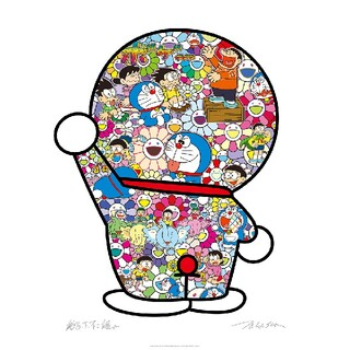 村上隆 ドラえもん ポスター ドラえもんの日常 ED1000 Takashi M(キャラクターグッズ)