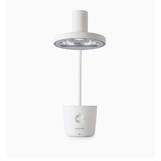 バルミューダ(BALMUDA)のバルミューダ 太陽光LEDデスクライト ブラック ホワイト(テーブルスタンド)