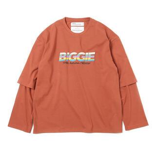 """ジエダ(Jieda)のDAIRIKU """"BIGGIE"""" Layered T-Shirt(Tシャツ/カットソー(七分/長袖))"""