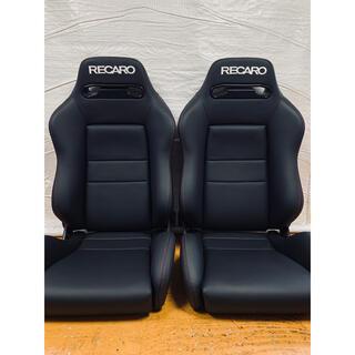 レカロ(RECARO)のレカロ RECARO SR-3 2脚セット セミオーダー 張替品 ダブルステッチ(汎用パーツ)