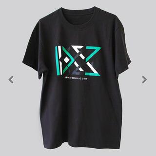 ケヤキザカフォーティーシックス(欅坂46(けやき坂46))の欅共和国2019 Tシャツ KYZ チャコール S(Tシャツ/カットソー(半袖/袖なし))