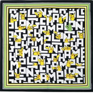 ロンシャン(LONGCHAMP)の【新品】ロンシャン×ポケモン シルクスカーフ(バンダナ/スカーフ)