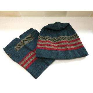 アリシアアダムスアルパカ(alicia adams alpaca)の【未使用】アルパカ 帽子&手袋(手袋)