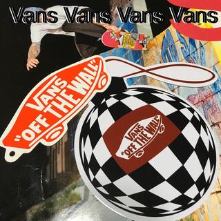 ヴァンズ(VANS)のVANSバンズUS限定sk8アイコンshoeタグ ステッカー おまけ付き 1点物(その他)