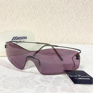 ミズノ(MIZUNO)の未使用 ミズノ ケース付 グランドモナーク サングラス 紫(サングラス/メガネ)