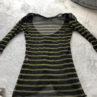 ジャンポールゴルチエ(Jean-Paul GAULTIER)のゴルチエ メッシュカットソー(Tシャツ/カットソー(七分/長袖))