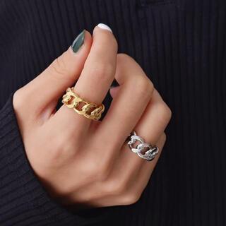 プラージュ(Plage)の新品 シルバー チェーンリング 指輪(リング(指輪))
