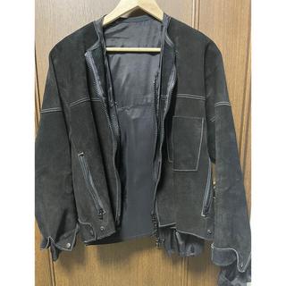 サンシー(SUNSEA)のSUNSEA   Suede GERONIMO Jacket  新年特別価格(レザージャケット)