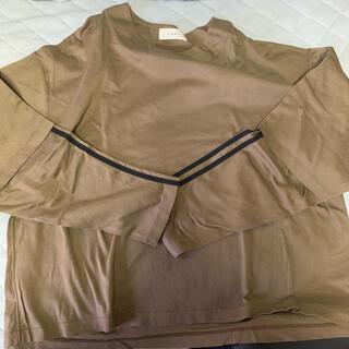 ジエダ(Jieda)のJieda LAYERED T-SHIRT(Tシャツ/カットソー(七分/長袖))