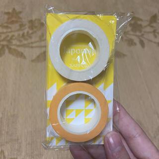 アラシ(嵐)の嵐 マステ 会場限定 Japonism 黄色 マスキングテープ(アイドルグッズ)