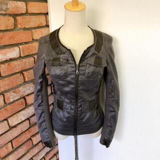 ゴーサンゴーイチプーラファム(5351 POUR LES FEMMES)の5351 プーラ ファム ジャケット ブラウン系 1 Sサイズ相当(その他)