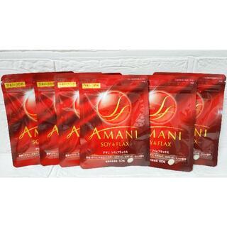 サントリー(サントリー)のサントリーDAIJOB AMANI30粒×6袋SOY&FLAXSUNTORY(ダイエット食品)