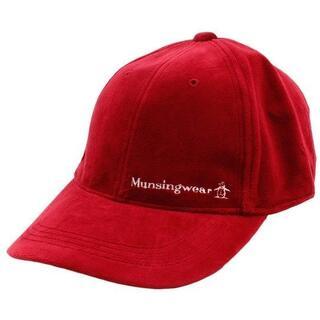 マンシングウェア(Munsingwear)の(新品)Munsing WEAR ベロアキャップ        (キャップ)