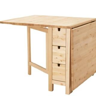 イケア(IKEA)の【ゆゆゆん゜。…さん専用】IKEAのダイニングテーブルとチェアのセット(ダイニングテーブル)