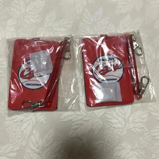 ヒロシマトウヨウカープ(広島東洋カープ)のカープ  カードケース 2個(名刺入れ/定期入れ)