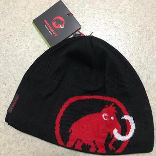 マムート(Mammut)の新品 マムート Tweak Beanie ブラック MAMMUT ニット帽(ニット帽/ビーニー)