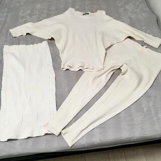 イッセイミヤケ(ISSEY MIYAKE)のnoir 様 ISSEY MIYAKE トップス パンツ スカート 3点セット(セット/コーデ)