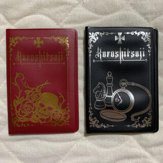 2点セット★黒執事 セバスチャン  グレル 6ポケット付きカードケース(その他)