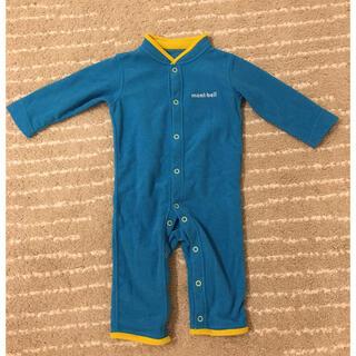 mont bell - モンベル シャミースカバーオール Baby 80サイズ ブルー