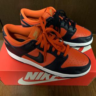 ナイキ(NIKE)のNIKE dunk low sp university orange(スニーカー)