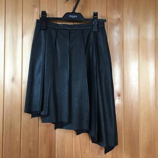 アウラアイラ(AULA AILA)のアウラアウラ レザースカートS(ミニスカート)