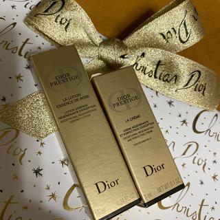 クリスチャンディオール(Christian Dior)のDior ディオール サンプル プレステージ 化粧水 クリーム 箱有り(化粧水/ローション)