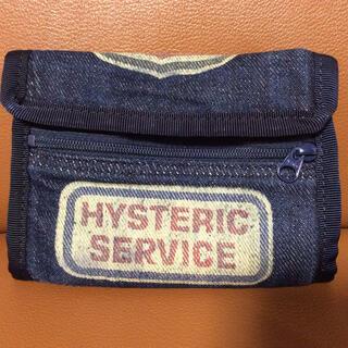 ヒステリックグラマー(HYSTERIC GLAMOUR)のヒステリック  グラマー デニム二つ折り財布(財布)
