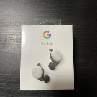 グーグル(Google)の 【新品】Google(グーグル) Pixel Buds クリアリーホワイト(ヘッドフォン/イヤフォン)
