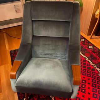 ヴィンテージ家具 デンマーク 北欧家具 チーク材  ラウンジチェア(ハイバックチェア)