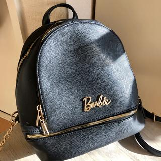 バービー(Barbie)のBarbie  ♪ リュック  黒(リュック/バックパック)