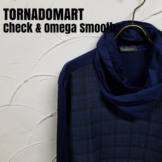 トルネードマート(TORNADO MART)のTORNADOMART/トルネードマート チェックJQ  オメガスムース(Tシャツ/カットソー(七分/長袖))