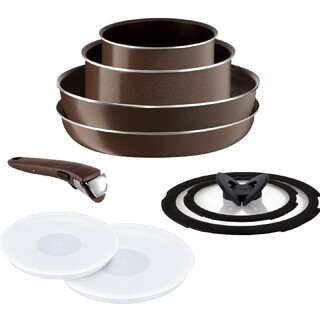 ティファール(T-fal)の【保証付】ティファール フライパン 鍋 ⑨点セット ガス火専用 新品 送料無料(鍋/フライパン)