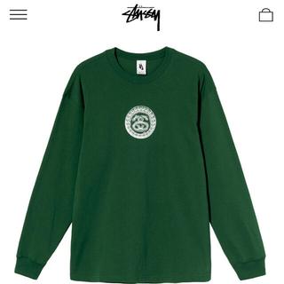 ステューシー(STUSSY)の値下げ中 STUSSY NIKE SS  LINK ロンT グリーン Lサイズ(Tシャツ/カットソー(七分/長袖))