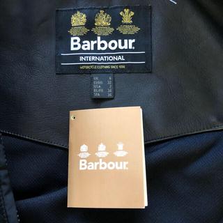 バーブァー(Barbour)の完売御礼!【未使用】Barbour 黒キルティングジャケット Sサイズ(ブルゾン)