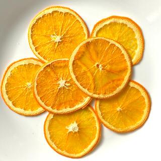オレンジ☆押しフルーツ☆素材(各種パーツ)