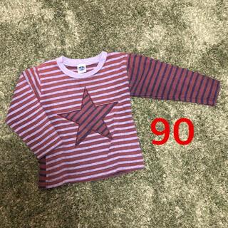 シップスキッズ(SHIPS KIDS)のSHIPS KIDS  キッズ 長袖ボーダー カットソー size 90(Tシャツ/カットソー)