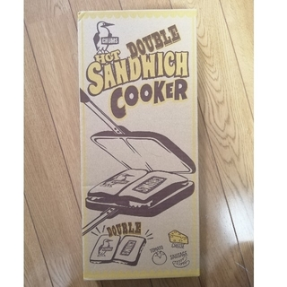 チャムス(CHUMS)のチャムス サンドイッチクッカー(サンドメーカー)
