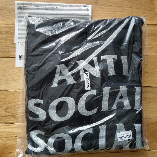 ANTI(アンチ)のANTI SOCIAL SOCIAL CLUB 日本限定  シルバー メンズのトップス(パーカー)の商品写真