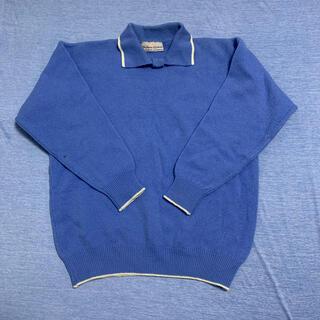 ロキエ(Lochie)の古着 ニット セーター ブルー 水色 ヴィンテージ vintage(ニット/セーター)