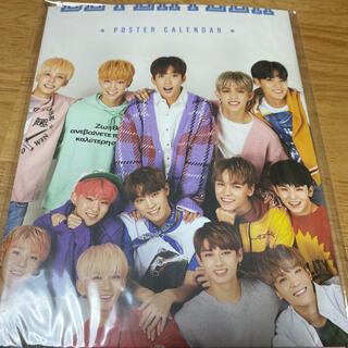セブンティーン(SEVENTEEN)のセブチ ポスターカレンダー 2018 シーグリ(アイドルグッズ)
