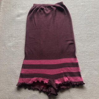 胸まで覆える毛糸のパンツ 薄手タイプ(アンダーシャツ/防寒インナー)