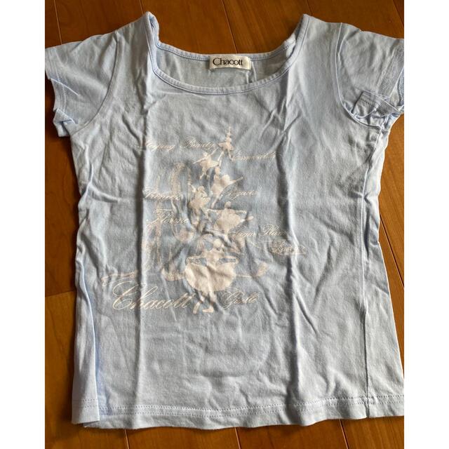 CHACOTT(チャコット)のチャコットtシャツ 140  キッズ/ベビー/マタニティのキッズ服女の子用(90cm~)(Tシャツ/カットソー)の商品写真